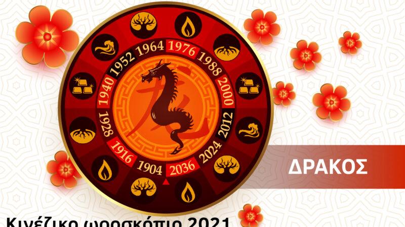 Δράκος 2021- Κινέζικο Ωροσκόπιο