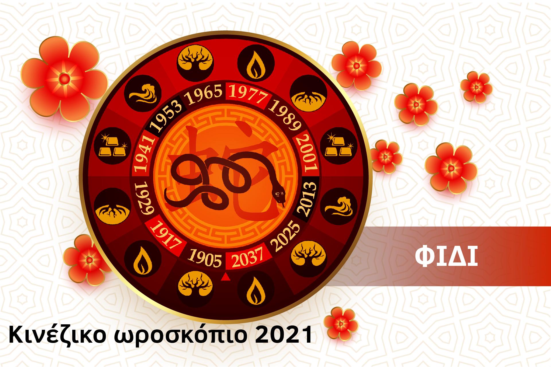 Φίδι 2021 – Κινέζικο Ωροσκόπιο 2021