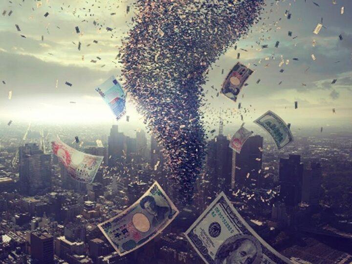 Η οικονομική κατάρρευση και το τετράγωνο Κρόνου-Ουρανού