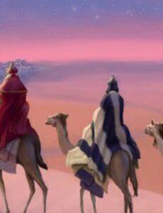 Το άστρο της Βηθλεέμ και οι τρείς Μάγοι με τα δώρα !!